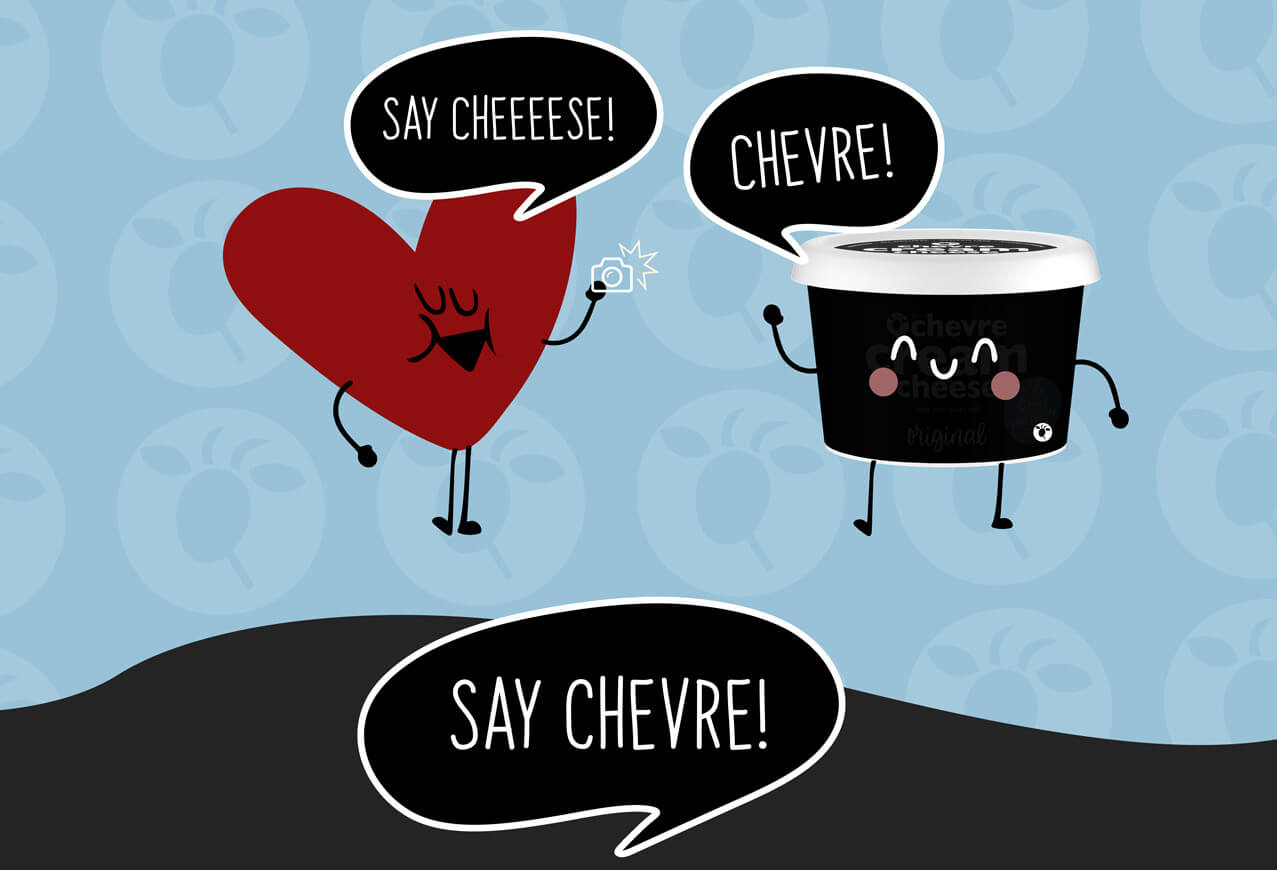 Bell Chevre #SayCheese