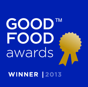 Good Food Awards 2013
